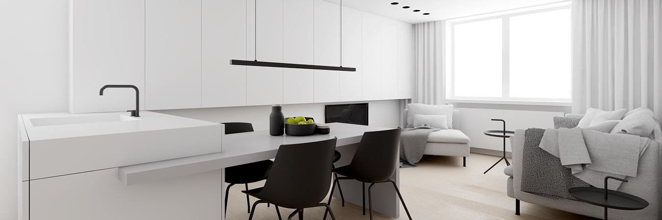 Projekt wnętrz apartamentu, Sztokholm